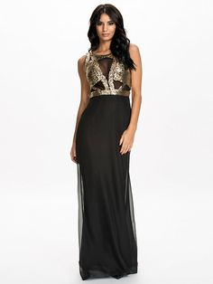 Gorgeous Mermaid Dress - Nly Eve - Black - Party Dresses - Clothing - Women - Nelly.com Uk