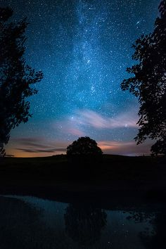Winterburn Reservoir, Milky Way