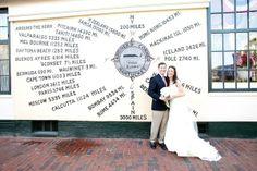 #realweddings #greatharboryachtclub #nantucket #bride #groom #dress #bouquet #flowers #socoevents www.socoevents.com