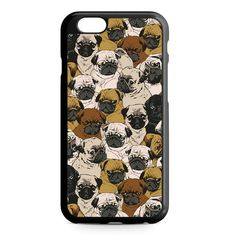 Doggy Pattern Colour iPhone 4/4S/5/5S/5C/6/6S/6+/6S+ Heavy Duty Case