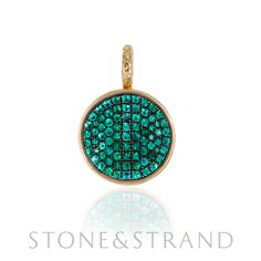 Emerald Pendant by Ray Griffiths, available exclusively at www.stoneandstrand.com