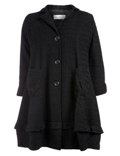 Coat with wool in Black designed by D Celli to find in Category Coats & Jackets at navabi.de