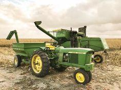 Classic Deere farming