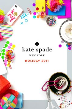 colorful holiday inspiration | kate spade
