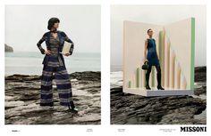 Missoni Fall 2013 ad campaign