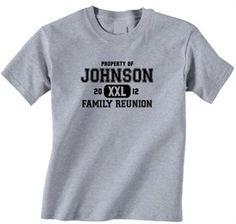 Cheapestees.com Family Reunion T-Shirt Design R1-30