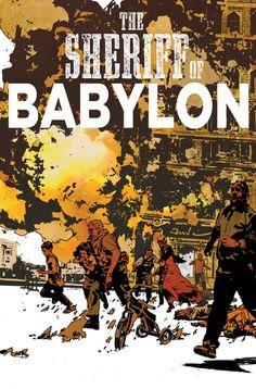 THE SHERIFF OF BABYLON #8 cover by John Paul Leon (July 2016)