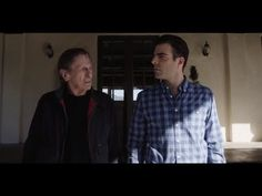 "Zachary Quinto vs. Leonard Nimoy: ""The Challenge"" audi commercial.  Every second of this commercial is pure perfection!"
