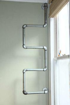 Giá để đồ phong cách ống nước có 1-0-2
