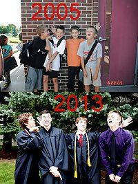 Then and Now: Best Friends Graduating | Picture 45493