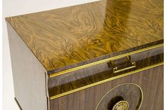 Faux Wood Sideboard | Vinterior London  #laminated #design #interiors #cool #retro #home