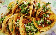 Tacos al pastor....uno de los favoritos de Altamar