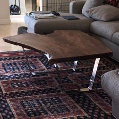 Custom sized stainless steel table legs for a amazing coffee table 👌 Coffee Table Legs, Metal Table Legs, Coffee And End Tables, Bench Legs, Sofa Legs, Stainless Steel Table Legs, Steel Sofa, Table Bases, Amazing