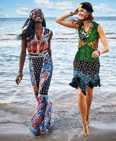 Jac Jagaciak in 'Jamaican Journey' for Vogue Japan July 2016