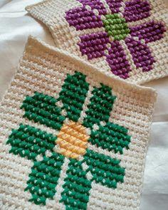 Jaba, Blanket, Crochet, Instagram, Flowers, Hand Embroidery, Punto De Cruz, Dots, Ganchillo
