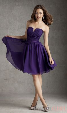 Purple Dresses With Sleeves For Weddings Naf