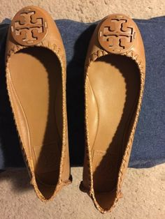 a186235d6 Tory burch leather ballet flats Size 8  fashion  clothing  shoes   accessories  womensshoes  flats (ebay link)