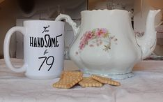 Birthday Gifts For Best Friend, 79 Yrs Anniversary Mug For Husband 79 Years Funny Jubilee Cup Unique 79 Bday Ideas Happy Birthday Daddy