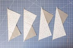 Once you learn the basic guidelines and steps for making half-rectangle triangle quilting units, you can dream up endless quilt designs.