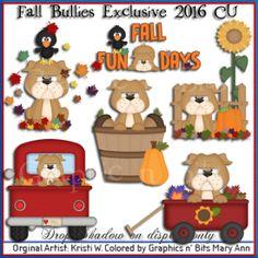 Fall Bullies Exclusive 2016 CU