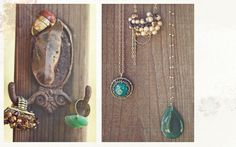 in love with the teal stone necklaces and  rings from Ruche. This is my absolute new favorite site