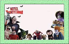 """kit de Aniversário """"Hotel Transylvania""""- Cone para Guloseimas, Rótulos, Convites, etc..... - Convites Digitais Simples"""