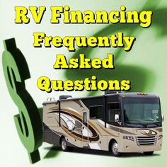 What you need to know about RV financing. The answers to these frequently asked questions about financing an RV will help you make an informed decision. Camping Life, Rv Life, Rv Camping, Camping Stuff, Rv Financing, Used Rv, Rv Storage, Rv Travel, Travel Trailers