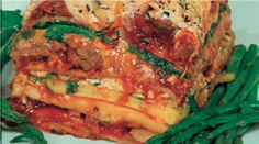 Vegan Lasagna recipe from the Jazzy Vegetarian. So delicious!