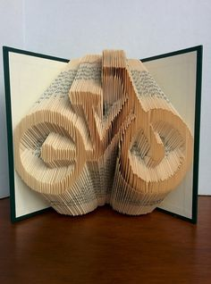 Bicycle - Folded Book Art - Fully Customizable, bike silhouette, cycle by MynMakes on Etsy
