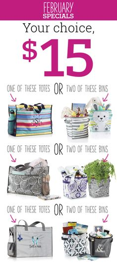 Thirty-One Gifts – February 2018! #ThirtyOneGifts #ThirtyOne www.mythirtyone.com/jarosas