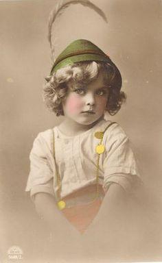 Vintage Postcard ~ Pretty Girl | Flickr - Photo Sharing!