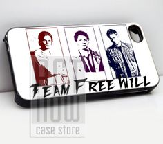 supernatural team free - for case iPhone 4/4s/5/5c/5s-Samsung Galaxy S2 i9100/S3/S4/Note 3-iPod 2/4/5-Htc one-Htc One X-BB Z10