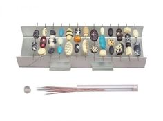 AMACO CLAY JEAWELRY BEAD BAKING & DRYING RACK with BEAD HOLDER PINS