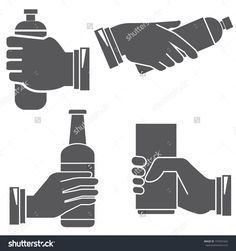 hand gripping bottle stock - Google Search