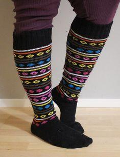 Hentsun helpot supersukat - LANKAHELVETTI Leg Warmers, Legs, Knitting, Accessories, Fashion, Socks, Leg Warmers Outfit, Moda, Tricot