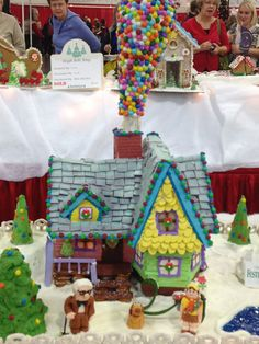 Gingerbread Houses at Festival of Trees