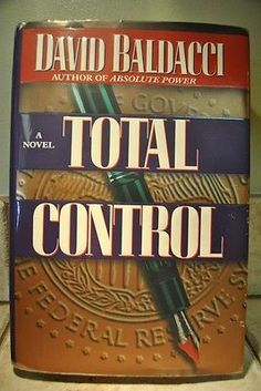 Total Control by David Baldacci (1997, Hardcover) 1st/1st