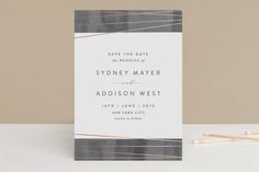 Geo Chic by Hooray Creative at minted.com