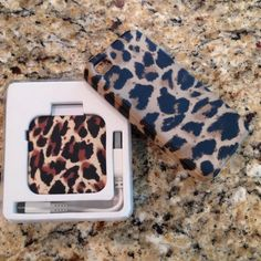 J. Crew Leopard iPhone 4S case & battery backup J. Crew leopard iPhone 4S case and matching battery backup. I recently got an iPhone 5 and can no longer use it. J. Crew Accessories