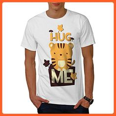 Hug Me Adorable Animal Men XXL T-shirt | Wellcoda - Animal shirts (*Partner-Link)
