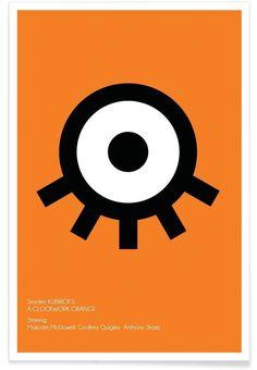 Orange en Affiche premium par AS Art | JUNIQE