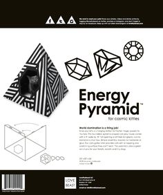 Energy Pyramid Cat Home