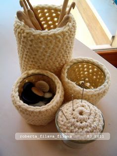 #crochet bowls