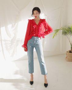#Dahong #Eunji daily style 2018
