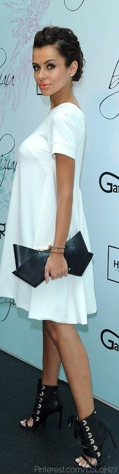 Victor & Rolf Black Leather Bow Clutch