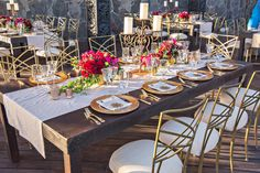 Venue: Cabo Azul // Flowers: Natural Pina // Photography: Joy Marie Photography