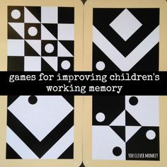 Improve the short term memory of children using these simple game suggestions.