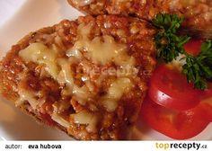 Pomazánka na topinky recept - TopRecepty.cz 20 Min, Bon Appetit, Lasagna, Baked Potato, Risotto, Recipies, Food And Drink, Appetizers, Pizza