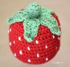 All of the yummy fruits that are in season right now have inspired me.  A couple weeks ago I posted the pattern for this lovely set of fruit coasters and now I've created a sweet strawberry hat! Happy Crocheting! Materials: – Vanna's Choice yarn in Scarlet (red) and in Fern (green). You can purchase the …