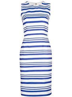 Dolce and Gabbana Striped Shift Dress